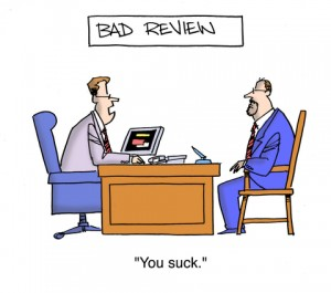 Photo credit: Bad Performance Review, © Andrewgenn | Dreamstime.com